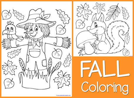 Fall Coloring Pages 1111