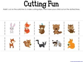 Forest Animals Printables (11)