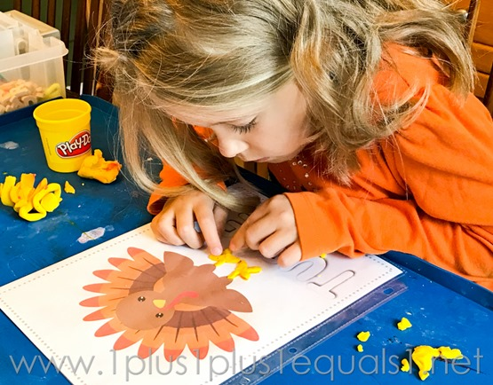 Fall Play Dough Mats -7806