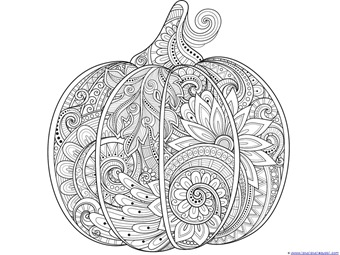 Halloween Witch Coloring Page - Cat in a Witch hat - Free ... | 255x340
