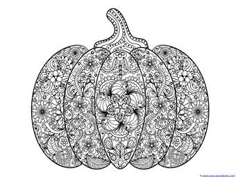 Pumpkin Coloring (4)