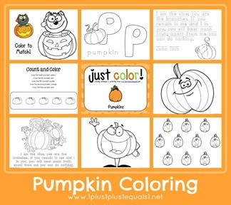 Pumpkin Coloring[4]