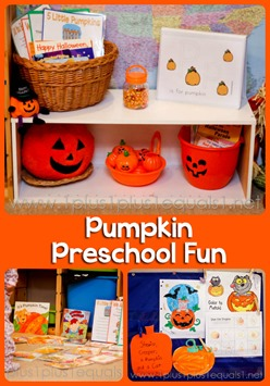 Pumpkin Preschool Fun