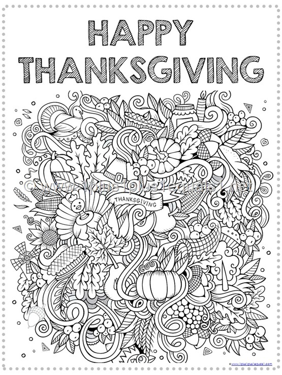 - Thanksgiving Bible Verse Coloring Pages - 1+1+1=1