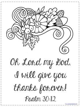 Thanksgiving Bible Verse Coloring (3)