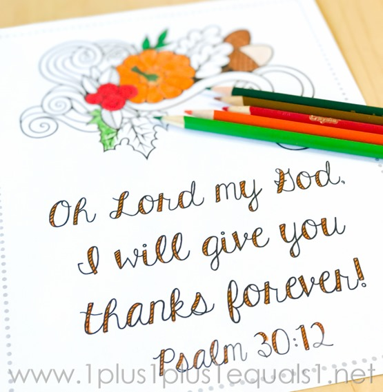 Thansgiving Bible Verse Coloring -8896