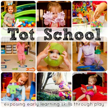 Tot School early learning through play