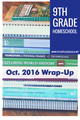 9th Grade Oct. 2016 Wrap Up