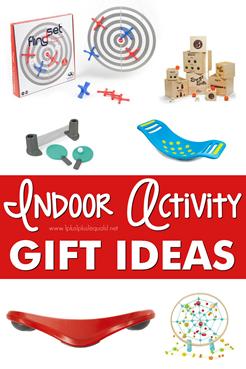 Indoor Activity  Gift Ideas