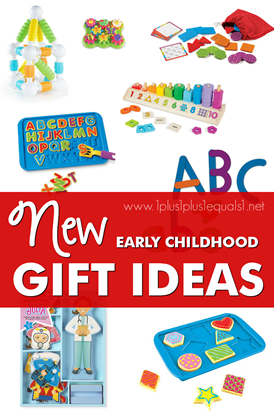 New for 2016 Early Childhood Gift Ideas