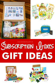 Subscription Boxes Gift Ideas