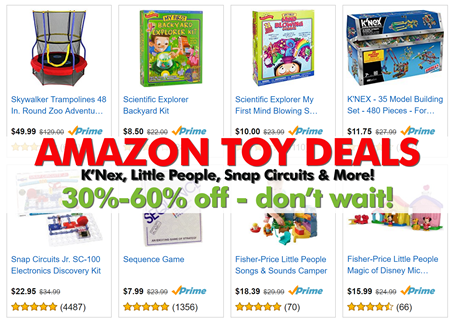 Toy Deals on Amazon