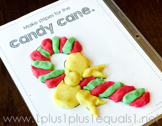 Christmas Play Dough Mats -0701
