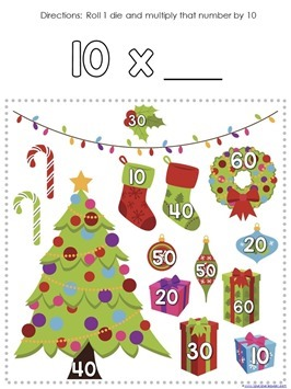Multiplication Roll and Cover Christmas (9)