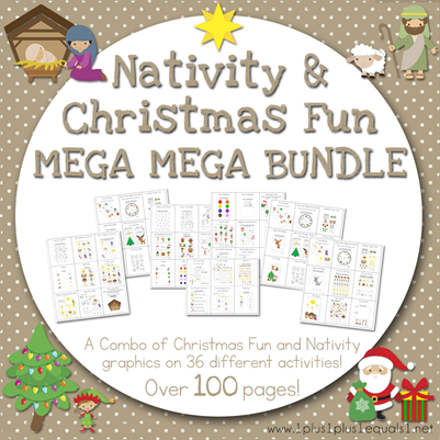 Nativity and Christmas Fun Mega MEGA Bundle[2]