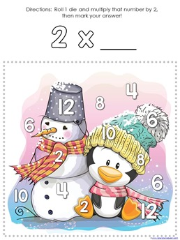 Winter Multiplication Games (4)