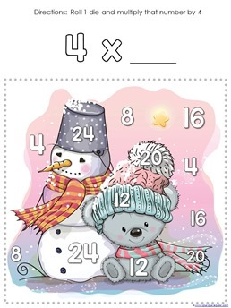 Winter Multiplication Games (6)