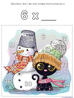 Winter Multiplication Games (8)