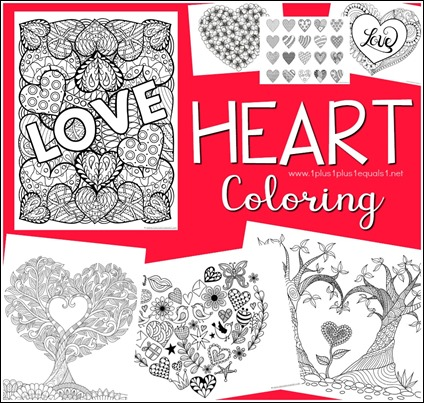 Heart Coloring