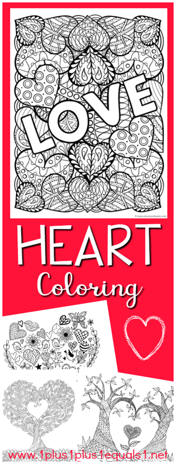 Valentine's Day Coloring for Kids and Adults FREE