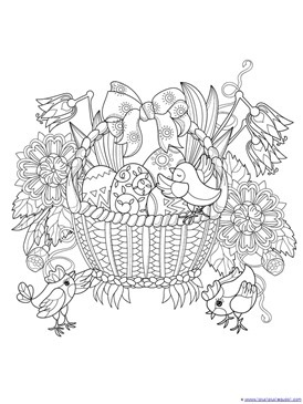 Easter Coloring (2)