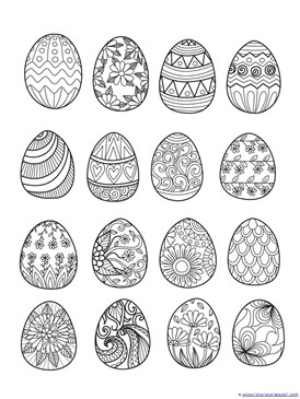Easter Coloring (4)