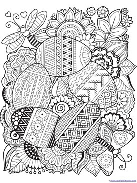 Easter Coloring (6)