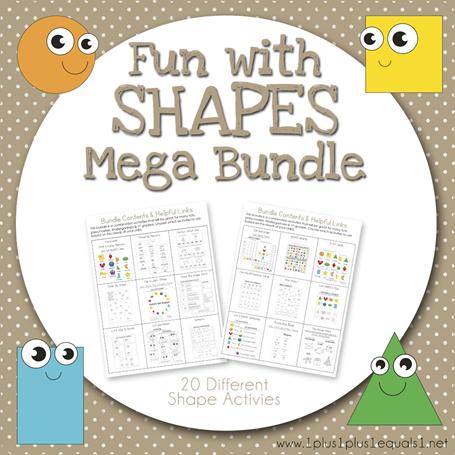 Fun with Shapes Mega Bundle