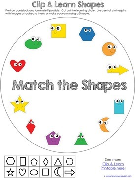 Shape Clip & Learn