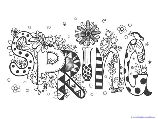 - Spring Coloring Pages - 1+1+1=1
