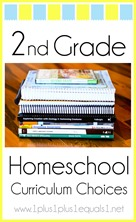 2nd Grade Homeschool Curriculum Choices
