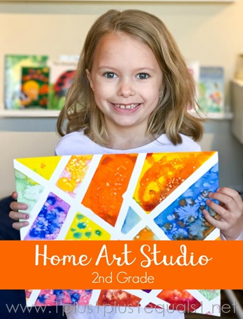 Home Art Studio  2nd Grade