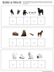 Build the color word (4)
