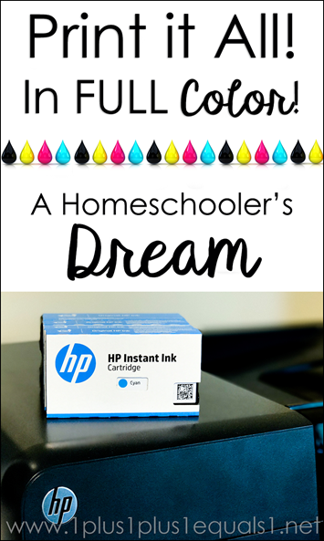 Print it all with HP Instant Ink