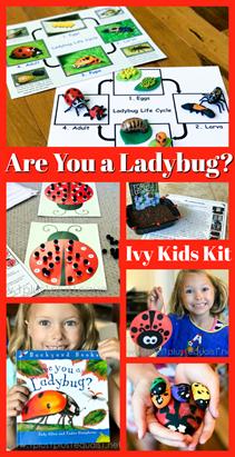 Ladybug Unit Study with Ivy Kids Kits