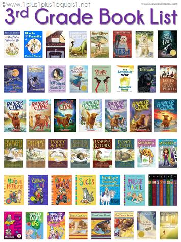3rd Grade Book List