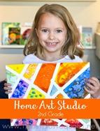 Home Art Studio  2nd Grade