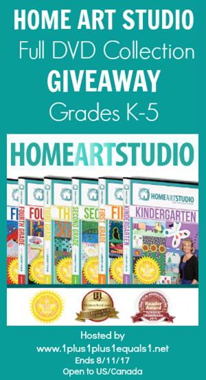 Home Art Studio Giveaway ends 8.11.17