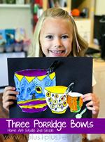 Home Art Studio Project Three Porridge Bowls