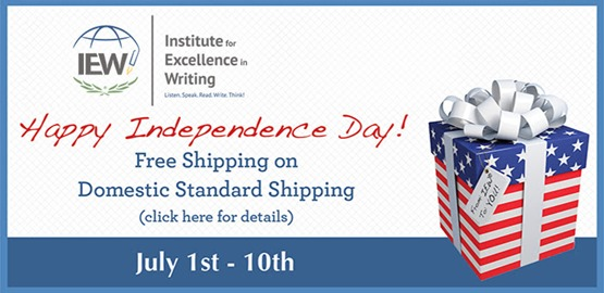 IEW free shipping