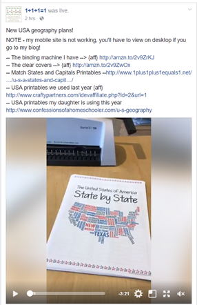 FB Live State By State