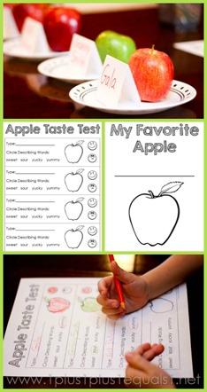 Apple Taste Test Printable