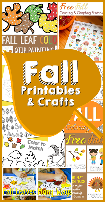 Fall Printables and Crafts
