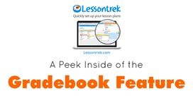 Lessontrek Gradebook Feature