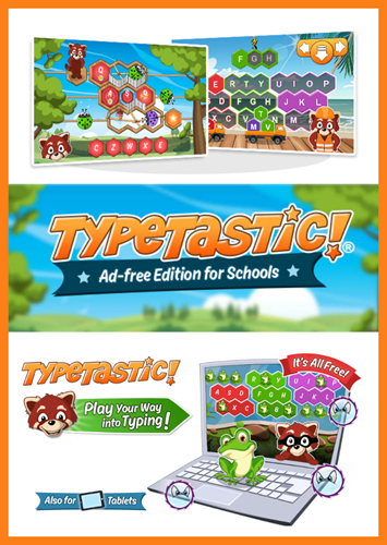 TypeTastic Typing for Kids