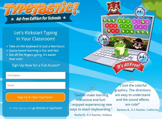 TypeTastic for Schools