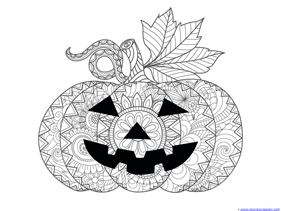 Pumpkin Coloring (5)
