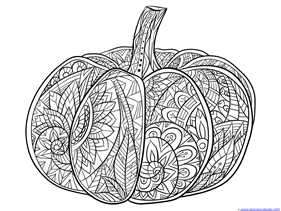 Pumpkin Coloring (6)