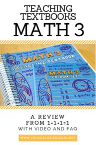 Teaching Textbooks Math 3 Review