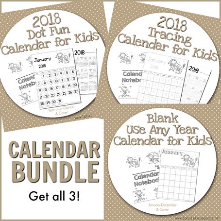 Calendar Bundle 2018